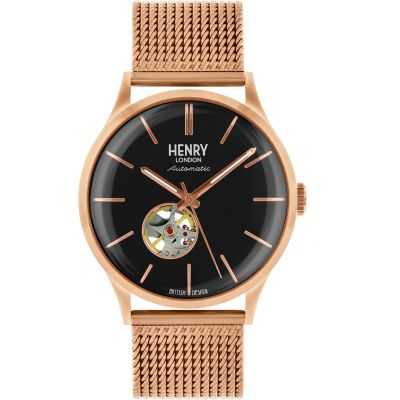 Mens Henry London Heritage Automatic Watch loving the sales