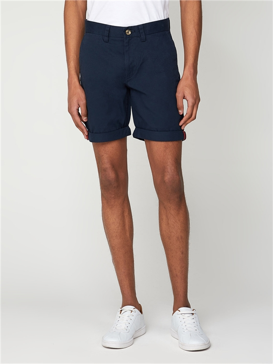 Men's Navy Straight Legged Chino Shorts | Ben Sherman | Est 1963 - 31 loving the sales