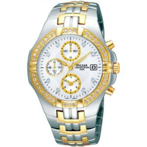 Mens Pulsar Chronograph Watch loving the sales