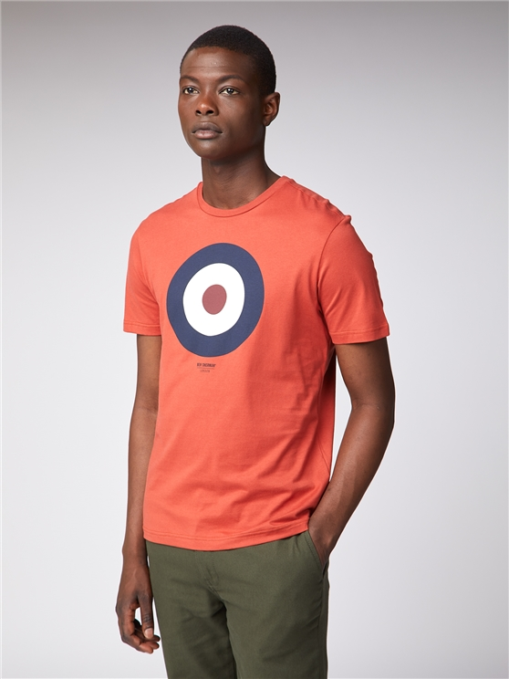 Men's Rust Orange Target T-Shirt | Ben Sherman | Est 1963 - Small loving the sales