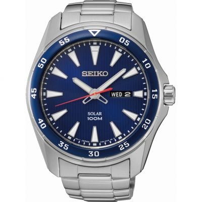 Mens Seiko Solar Powered Watch loving the sales