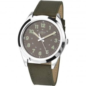 Mens Silver Coloured Day Date Watch loving the sales