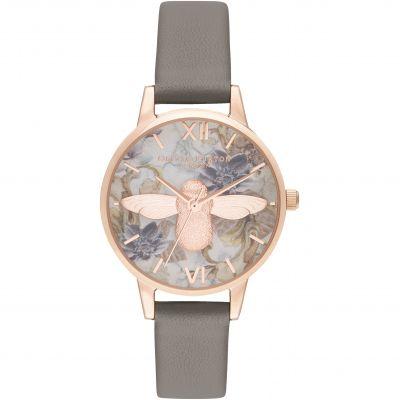 Midi 3d Bee Vegan London Grey & Rose Gold Watch loving the sales