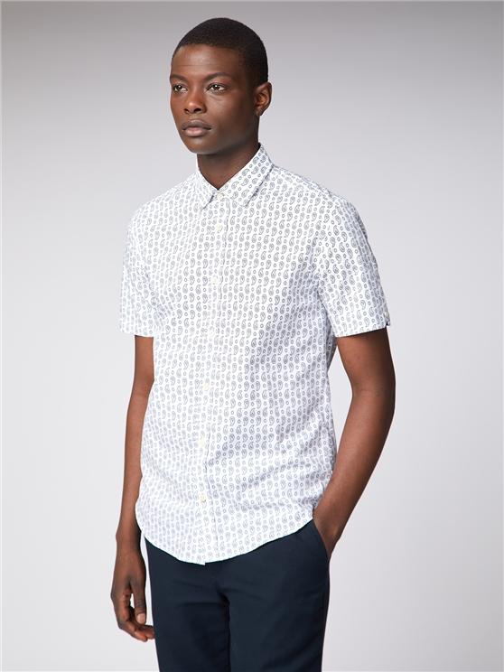 Paisley Print Shirt Off White | Ben Sherman - Small loving the sales