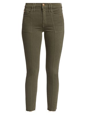 Roxanne Mid-Rise Skinny Utility Seaming Jeans loving the sales