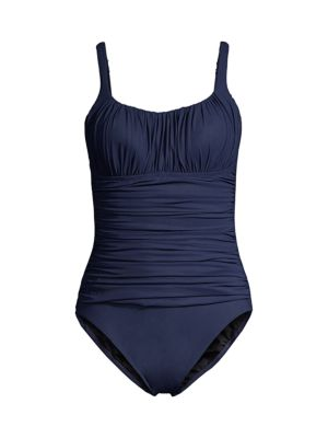 Ruched One-Piece Swimsuit loving the sales