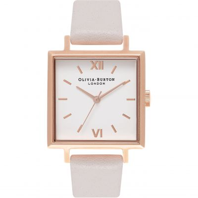Square Dials Blush & Rose Gold Watch loving the sales