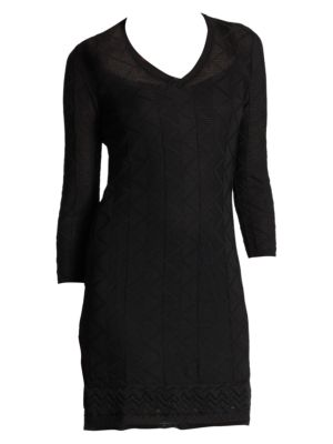 Three-Quarter-Sleeve Knit Dress loving the sales