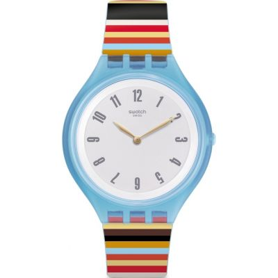 Unisex Swatch Skinstripes Watch loving the sales
