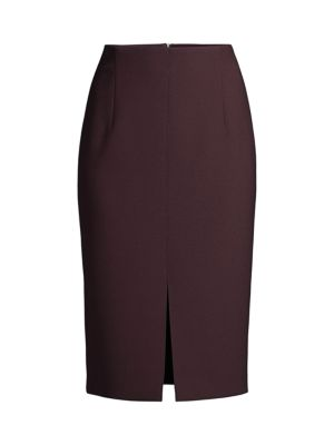 Vepeplum Structured Pique Jersey Long Pencil Skirt loving the sales