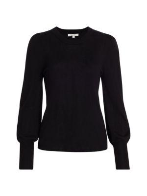 Whitney Blouson-Sleeve Sweater loving the sales