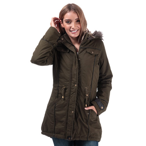 Womens Allure Padded Parka Jacket loving the sales
