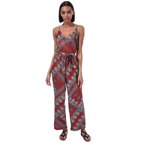 Womens Diana Scarf Print Jumpsuit loving the sales