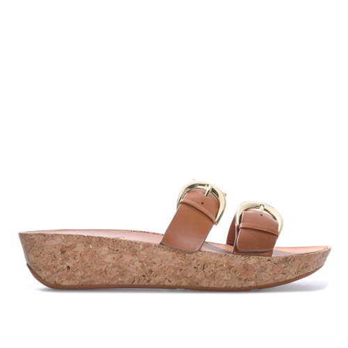 Womens Duo Buckle Slide Sandals loving the sales