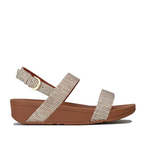 Womens Lottie Glitter Stripe Back Strap Sandals loving the sales