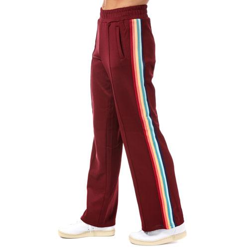 Womens Misty Rainbow Stripe Jog Pants loving the sales
