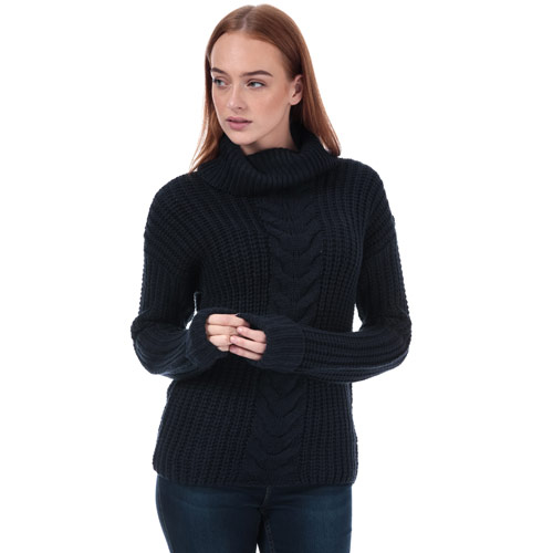 Womens Roll Neck Cable Jumper loving the sales