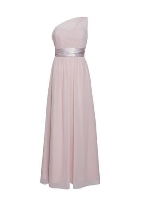Womens Showcase Blush 'sadie' One Shoulder Maxi Dress - Pink