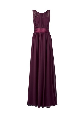 Womens Showcase Tall Oxblood 'Natalie' Maxi Dress - Red