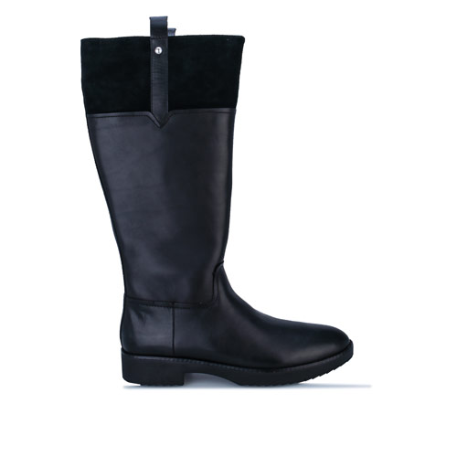 Womens Signey Mixte Leather Knee High Boots loving the sales