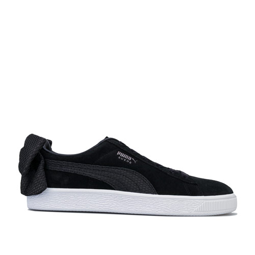 Womens Suede Bow Uprising Trainers loving the sales