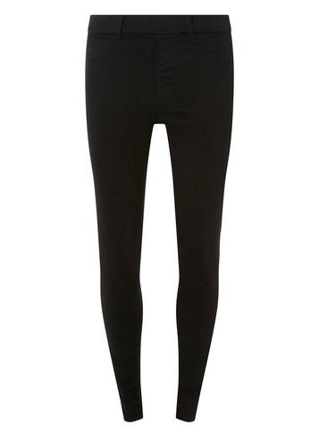 Womens Tall Black 'Eden' Super Soft Ankle Grazer Jeggings