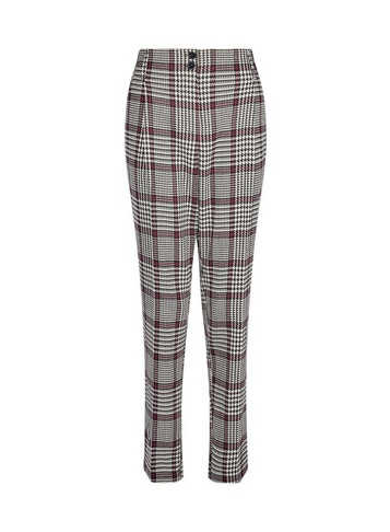 Womens Tall Multi Coloured High Waisted Trousers