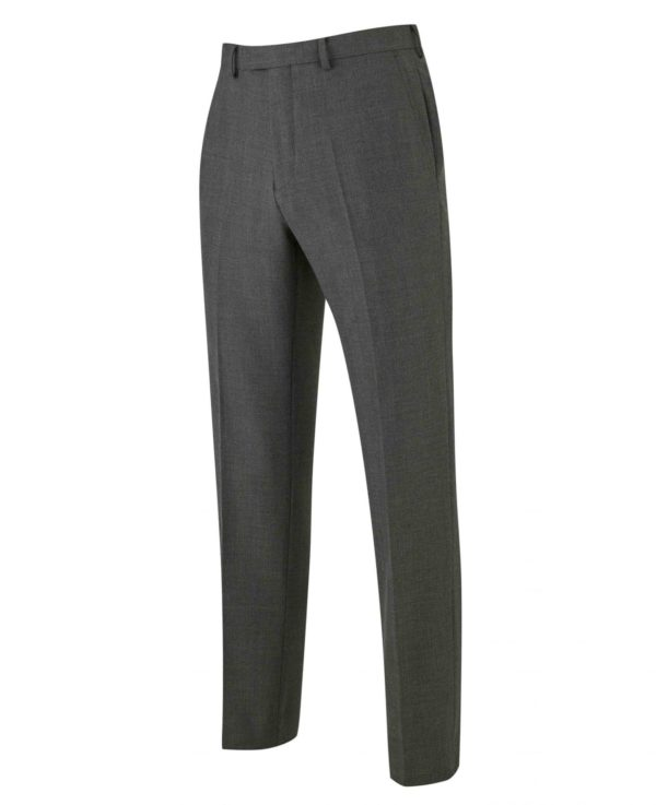 """Grey Prince Of Wales Check Business Suit Trousers 40"""" 32"""" loving the sales"""