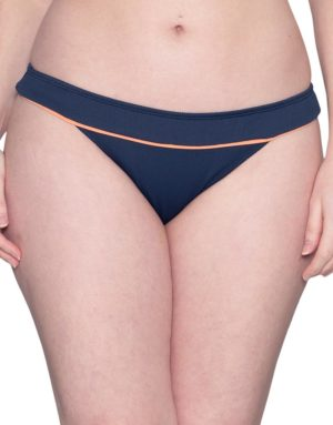 Curvy Kate Poolside Classic Bikini Brief Navy/Coral loving the sales