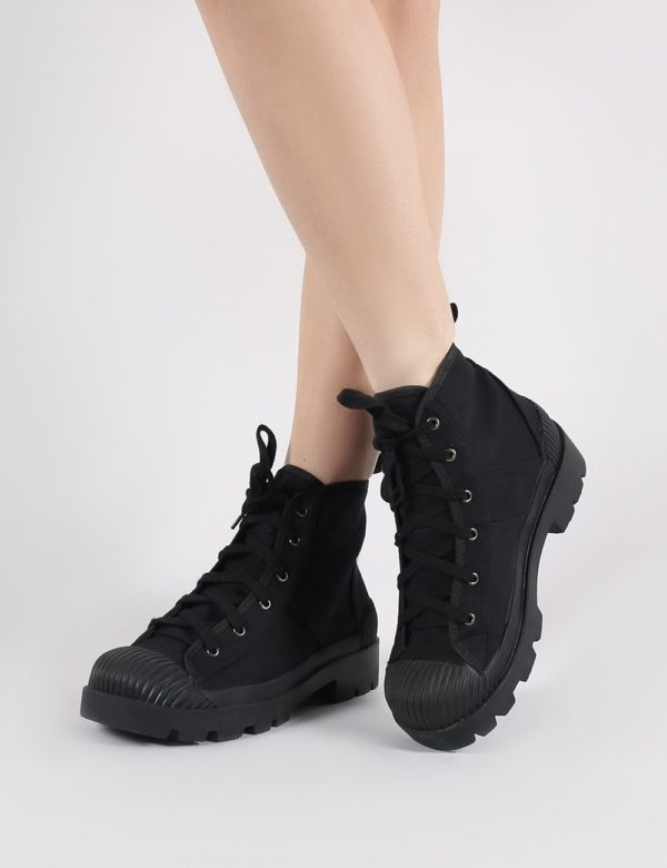 Greenland Ankle Boots  Canvas