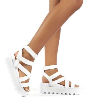 Motion  Chunky Strappy Gladiator Platform Sandals