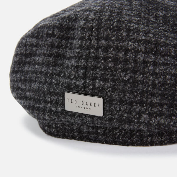 Ted Baker Men's Open Check Wool Baker Boy Cap loving the sales